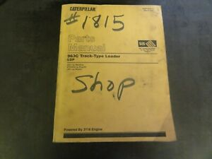 Caterpillar Cat 963c Track Type Loader Lgp Parts Manual 2ds1 up Sebp2639 12