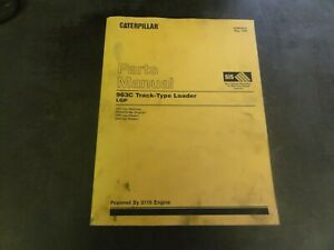 Caterpillar Cat 963c Track Type Loader Parts Manual Sebp2639 2ds1 up