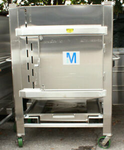 Millipore Mobius Stainless Steel Disposable Process Containers 1000 Liter 304l