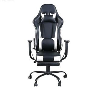 High back Ergonomic Swivel Gaming Chair Racing With Lumbar Support