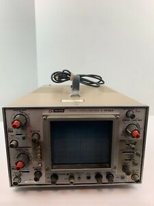 Bk Precision Dual Channel 10mhz Oscilloscope Model 1476a Powers On As is
