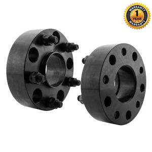2pcs 5x5 5 For 2011 Ram 1500 Black 2 Hub Centric 9 16 Wheel Spacers 77 8mm Cb