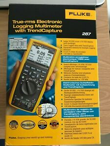 Fluke 287 True rms Electronic Logging Multimeter With Trendcapture brand New