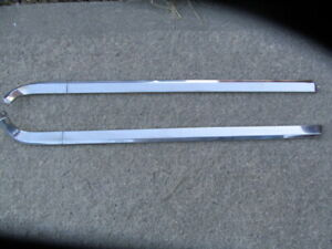 1967 68 69 Plymouth Barracuda Coupe Quarter Window Reveal Mouldings