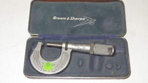 Vintage Brown Sharpe No 230 Micrometer