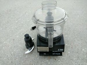 Waring Commercial Wfp11sw 120v 2 5 Qt Flat Cover Food Processor
