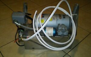 Gast Air Compressor 1had 17 m200x On 2 Gallon Air Tank
