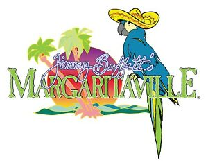 Margaritaville Jimmy Buffetts Sombrero Decal Sticker 3m Usa Vehicle Window Car