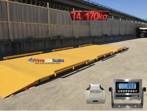 25 Ft X 10 Ft Truck Scale 40 000 Lb Ntep Legal For Trade Axle Scale Car Scale