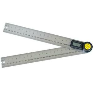 General Tools 10 In Digital Angle Ruler Finder Protractor Tool Stainless Steel
