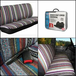 Universal Blanket Bench Full Size Seat Cover Fits Ford Chevrolet Dodge one Piece