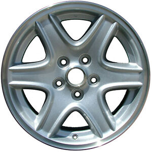 09037 Refinished Jeep Liberty 2002 2004 16 Inch Wheel Rim All Painted Silver