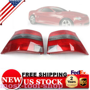 Car Rear Tail Light Assembly 1pair Left right Red Smoke 1j6945096f For Vw Mk4 Go