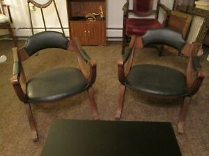 Set Of 4 Vintage Drexel Heritage Arm Chair 1970 S X Dante Savonarola Chairs