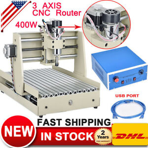 Usb 3040t 3 Axis Cnc Router Engraver Machine 3d Cutter Drill 400w Woodworking