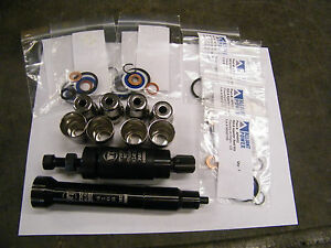 Tool 6 0l Ford Diesel Powerstroke Injector Sleeve Removal Install Kit 10
