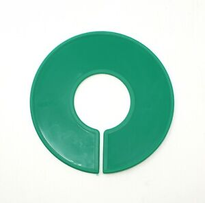Green Round Plastic Blank Rack Size Dividers Multi pack