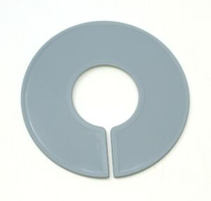 Grey Round Plastic Blank Rack Size Dividers Multi pack