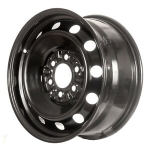 03547 New Compatible Black Steel Wheel Rim 17in Fits Ford F150 Truck 2004 2012