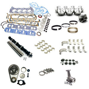 Open Box Sbf 289 302 Ford Stage 4 Master Engine Rebuild Kit Camshaft Piston