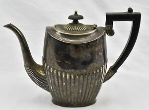 Cheltenham Sheffield Silver Teapot England 02001 Antique