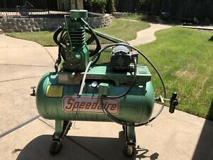 Speedaire Air Compressor 5 Hp 45 Gallons