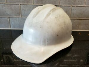 Vintage E d Bullard Co Hard Hat Helmet Hard Boiled With Liner S f Usa