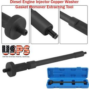 Steel Diesel Engine Injector Copper Washer Gasket Remover Extracting Tool Usa