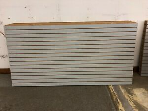 Slat Wall Panels 4 X 8 Heavy Duty 3 4 Inch Thick 40 Per Sheet Excellent