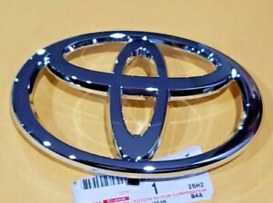 New Oem Toyota 4runner Camry Chrome Front Grille Emblem 2002 2003 2004 2005