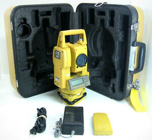 Topcon Gts 225 Total Station For Surveying 1 Month Warranty