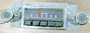 Vintage 1960s Ford Philco Am Push Button Radio Knobs D22a 18806 Mustang Rare
