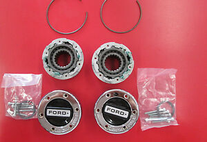 Nos 1968 1996 Ford Truck Bronco Lock Out Hub Assemblies F100 f250 4x4 Ranger
