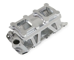 Holley Sniper 825071 Dual Quad Fabricated Intake Manifold Small Block Chevy V8
