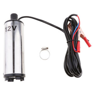 12v 24v Transfer Pump Submersible Fuel Diesel Water Electric Oil Delivery