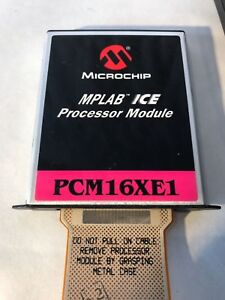 Microchip Mplab Ice Procesor Modules Pcm16xe1