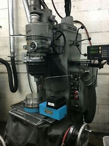 Moore No 2 Jig Grinder Grinding Machine With 1 40k Grinding Head Sony Dro