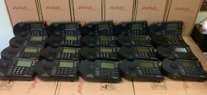Lot Of 20 Shoretel Ip 230 Black Lcd Display Ip Business Phone Free Us Shipping