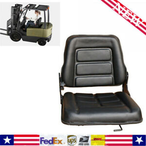 Durable Forklift Seat For Bobcat tractor excavator Machinery Truck Easy To Clean