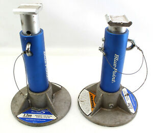 Blue Point 3 ton Aluminum Jack Stands model Alumstand By Snap On