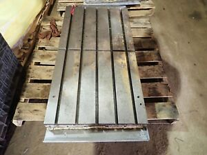48 75 X 25 5 X 5 5 Steel Welding T slotted Table Layout Plate Jig_5 Slot