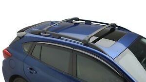 Genuine Oem Subaru 2018 2021 Crosstrek Roof Rack Cross Bar Set Aero E361sfl400