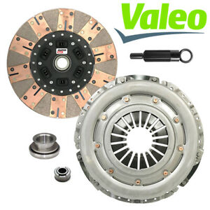 Valeo Stage 3 Performance Clutch Kit 86 01 Ford Mustang T5 Tremec Tko 26 Spline
