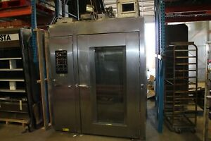 Hobart Hba 2g Double Rack Oven Hba2g Natural Gas Bakery Grocery W 2 Racks