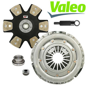 Valeo Stage 5 Performance Clutch Kit 86 01 Ford Mustang T5 Tremec Tko 26 Spline