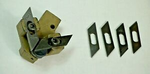 Doall Band Saw Blade Guide Holders Powermatic With Several Pairs Of Inserts