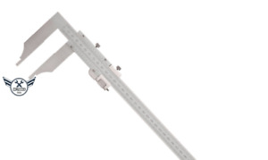 24 Heavy Duty Vernier Caliper stainless W Fine Adjustment 4 Jaw Depth