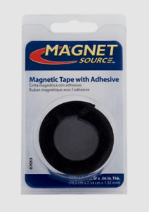 Magnet Source Magnetic Tape W Adhesive Flexible Craft Magnet 0 5 X 30 L 07011