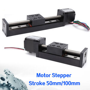 T6 Leadscrew Linear Stepper Stroke Cnc Slide Stage Actuator Mini 0 6a Two Choice