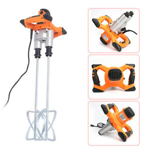 1400w Adjustable Handheld Electric Cement Mixer For Mortars Concrete Grouts Hot